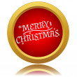 Merry christmas icon — Stock Vector #37072653