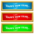 New year set — Stock Vector