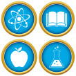 Set on a scientific subject — Stock Vector #37275437