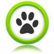 Paw of an animal icon — Stock Vector