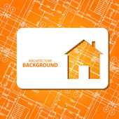 Best architecture background — Stock Vector