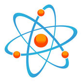 Icono de la molécula — Vector de stock