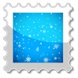 Merry Christmas stamp — Stock Vector #40397891