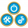 Repairs icons — Stock Vector #40891411