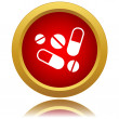 Medicine icon — Stockvector #40891523