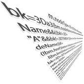 Computer code — Stock Vector
