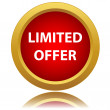 Limited offer icon — Stock Vector #42280869