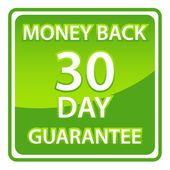 30 days money back guarantee — Stock Vector