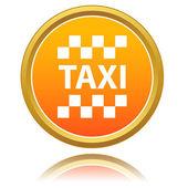 Taxi pictogram — Stockvector