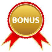 Новый бонус значок — Cтоковый вектор