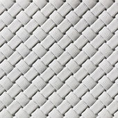 White woven leather — Stock Photo