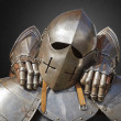 Ancient metal armor — Stock Photo #13746180