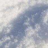 Detail of snow — Stock Photo