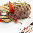 Grilled beef steak — Stock Photo #19079469