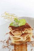 Italian Tiramisu — Stock Photo