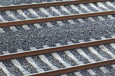 Different view of a railroad — Stock Photo