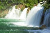 Waterfalls on Krka River. National Park, Dalmatia, Croatia — Stock Photo