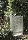 Garden gate — Stock Photo