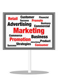 Marketing concept sign — Stock Photo