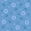 Background blue flowers — Stock Photo