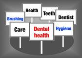 Signes de santé dentaire — Photo