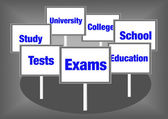 Exams education — Stock Photo