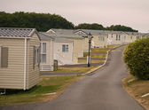Caravan holiday park — Stock Photo