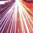 Night motorway - Stock Photo