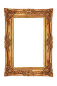 Gilt frame in ancient style — Stock Photo