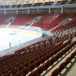 Interior of hockey sports stadium — Stock Photo