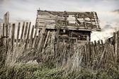 Atılan kırsal ev — Stok fotoğraf