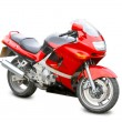 Stock Photo: Motorcycle isolated