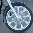 Forward wheel motorcycle — Stok fotoğraf