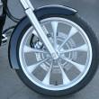 Forward wheel motorcycle — Stock Photo