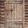 Royalty-Free Stock Photo: Door in wall of an old log house