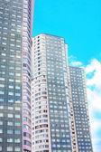 モスクワの高層住宅ビル — ストック写真
