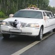 Wedding limousine with ex-court — Stock Photo #18717693
