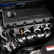 Engine of the new car - Stockfoto