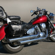 Motorcycle on asphalt — Stock Photo #21671665
