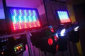 Färg ljus enheter — Stockfoto
