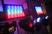 Color light devices — Stock Photo