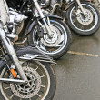 Motorcycles on parking — Stock Photo #32263691