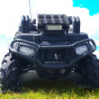 Stock Photo: Black ATV