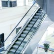 Escalator steps — Stock Photo