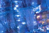 Ice transparent wall — Zdjęcie stockowe