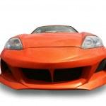 Sports orange car isolated — Stock Photo #41233469