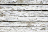 Boards covered with white cracked paint — Stock Photo