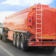 Gas-tank truck goes on highway — Stock Photo #41747979