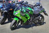 мотоциклы на стоянке — Стоковое фото