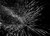 Cracks on windshield — Zdjęcie stockowe